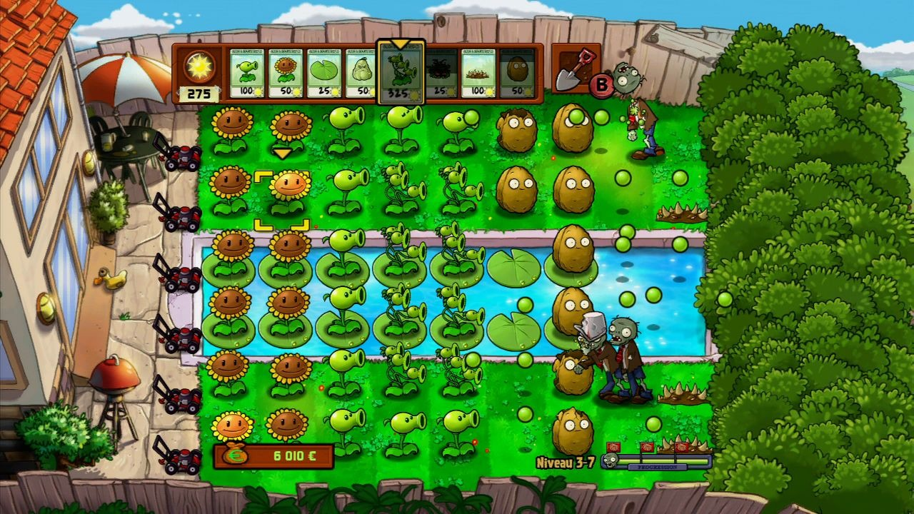 Plantes vs zombies for Plante zombie